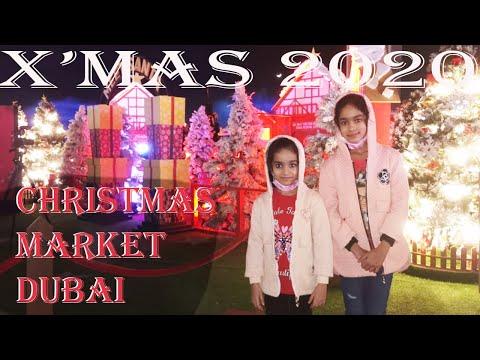 Christmas Markets In Dubai||X'MAS 2020||Festive Wonderland In Festival City||Dubai Festival City||