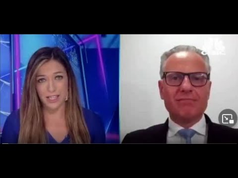 18 June 2021; Thanos Papasavvas on CNBC discussing Fed, yields and currencies