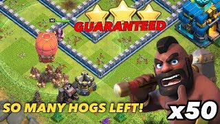 GUARANTEED TH12 3-Star Strategy! 50+ Hogrider Swarm | Clash of Clans