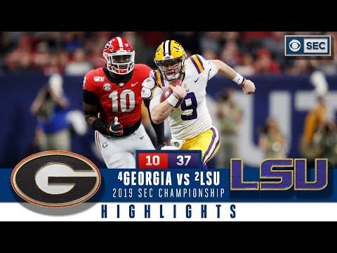 2019 SEC Championship Highlights: #2 LSU dominates #4 Georgia   CBS Sports