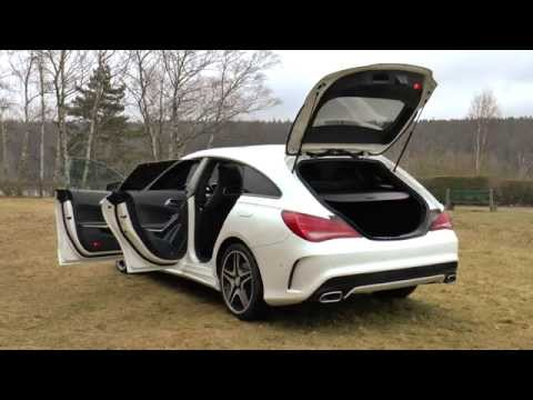 Mercedes CLA Shooting Brake   essai auto center be