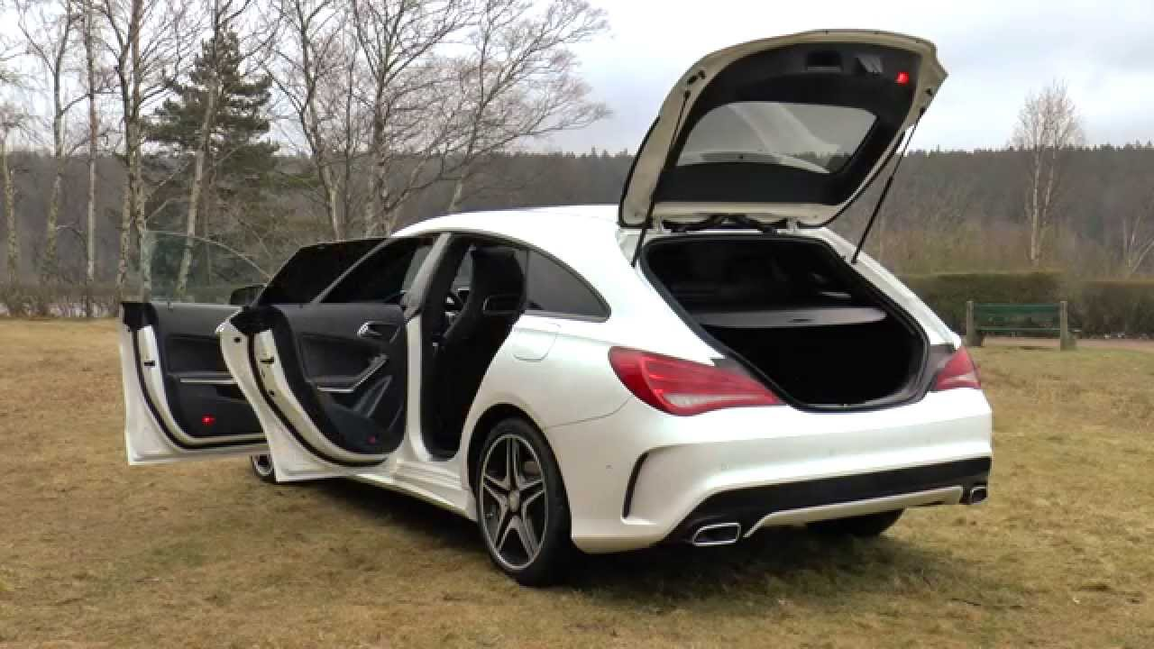mercedes cla shooting brake essai auto center be youtube. Black Bedroom Furniture Sets. Home Design Ideas