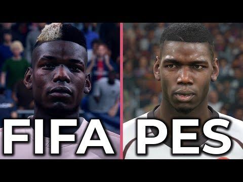 FIFA 19 vs  PES 2019 Graphics Comparison (FIFA 19 DEMO