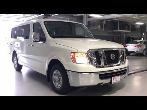 2018 Nissan 3500 NV Passenger van start up and walk around
