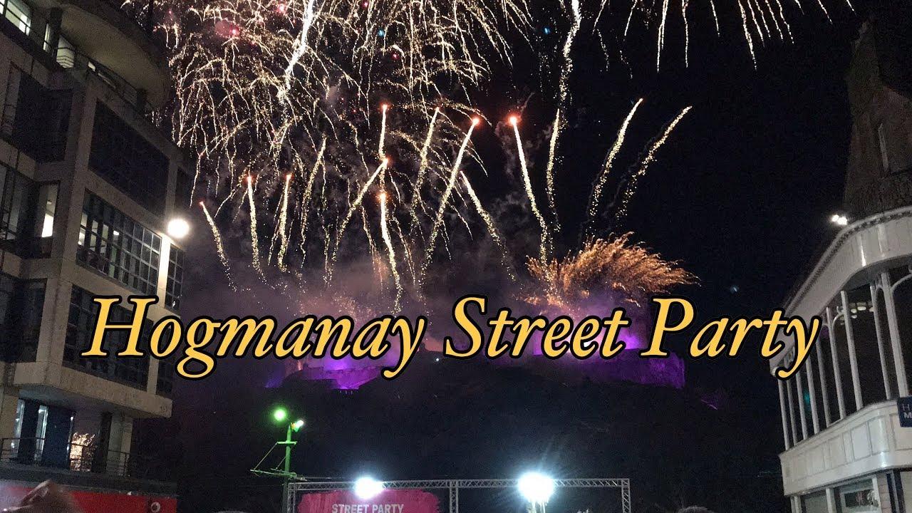What happened in Hogmanay Street Party ? | EDINBURGH