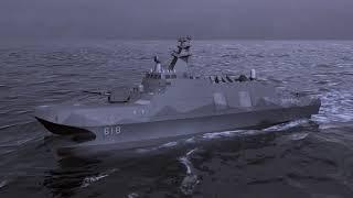 2017台北國際航太展-雄風三型飛彈影片