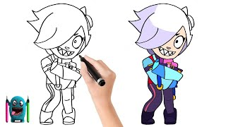 Colette Çizimi How to Draw Brawl Stars Colette