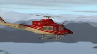 X Plane 11 pb8 Bell 412 Foolin Around