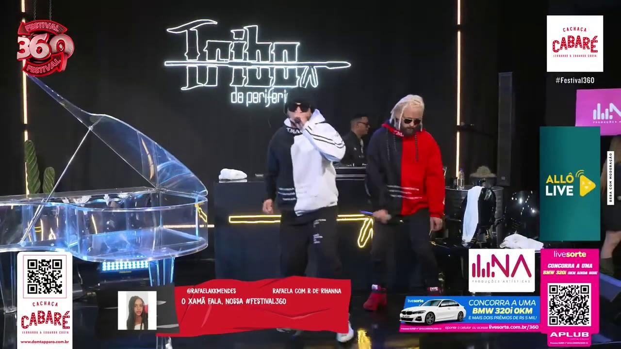 Download Tribo da Periferia & Hungria Hip Hop Live Festival360