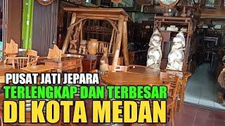 Pusat Penjual Jati Jepara Terlengkap Dan Terbesar Di Kota Medan