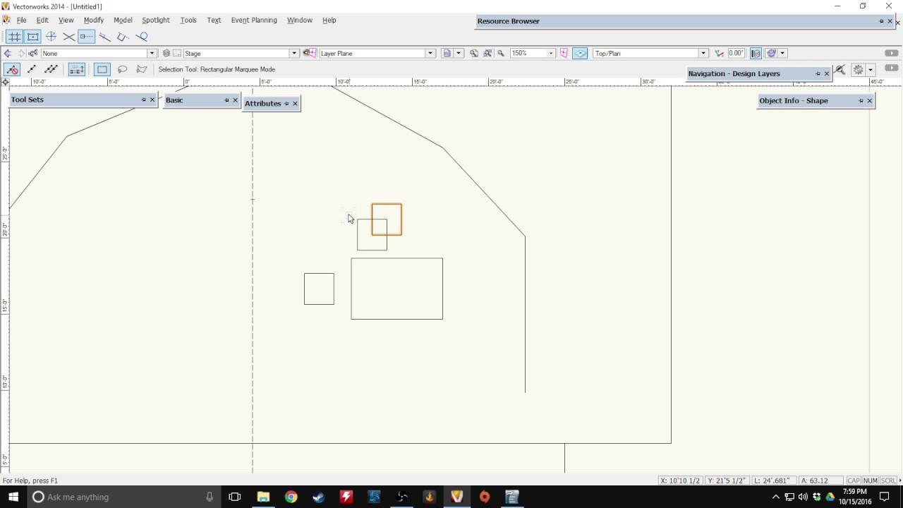 Vectorworks Tutorial Part 20