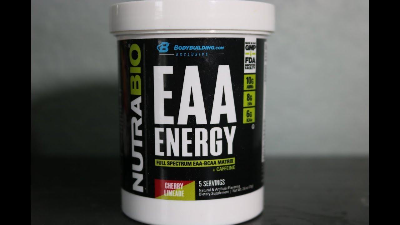 Nutrabio eaa energy ingredients unveiled g aminos caffeine