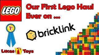 First LEGO Bricklink Haul