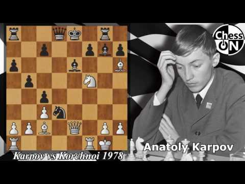 Best Chess Games of all Time - Karpov