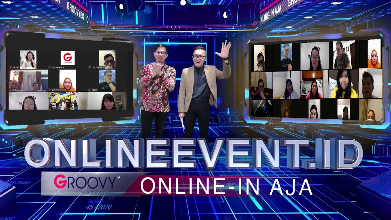 The First Affordable Virtual 3D Event in Indonesia! (Online-in Aja 2020)