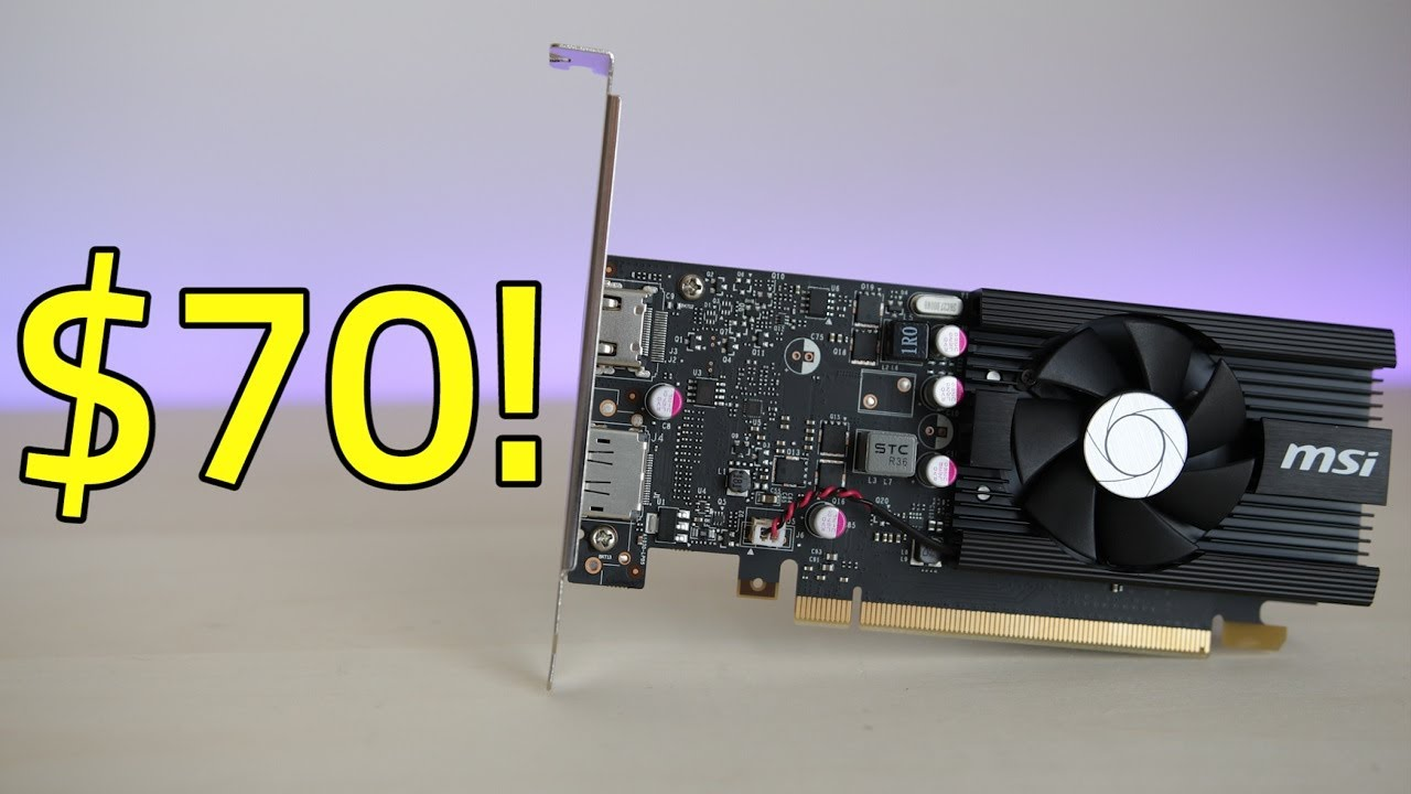 Is A $70 Graphics Card Worth It? — MSI GT 1030 Review & Benchmarks!