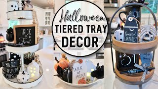 HALLOWEEN DECORATING 2019 | FARMHOUSE KITCHEN DECORATE WITH ME…