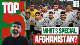 India 🇮🇳 vs. Afghanistan 🇦🇫: FIFA 2022 Qualifiers | 5 Things You Should Know About Afghanistan