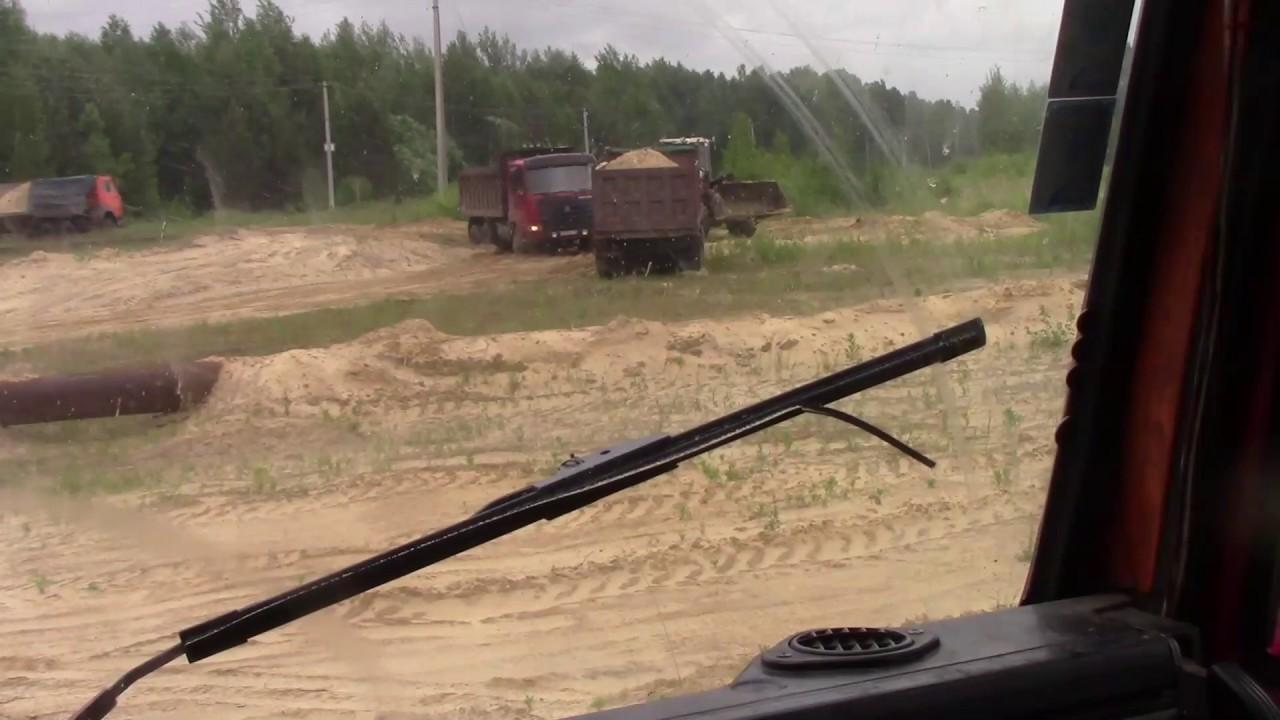 Будни камазиста№18  КАМАЗ везде проедит