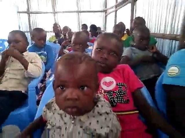 Children Learning about Jesus @ the GMFC/Working Faith Fellowship-Kibera Slum Kenya