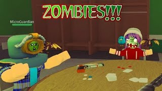 ROBLOX LET'S PLAY ZOMBIE RUSH - France RADIOJH GAMES - MICROGUARDIAN