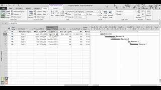 Tracking Project Progress in Microsoft Project 2013 by EPMA