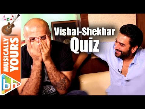 HILARIOUS Talking Films Quiz With Vishal-Shekhar