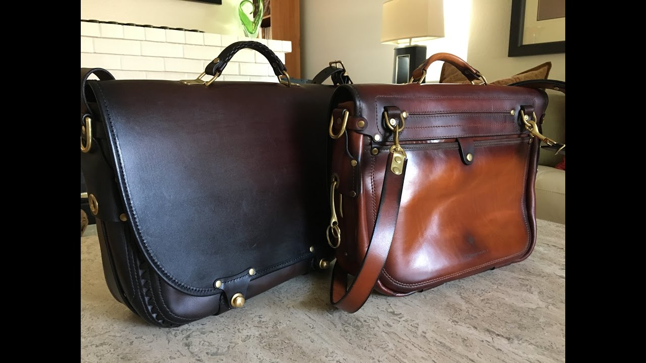 The Companion Messenger Bag by The Leather Shop of Seattle WA ...