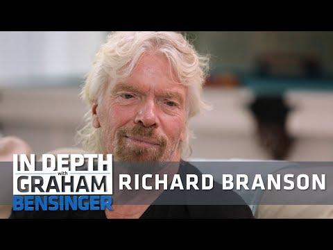 Richard Branson: Pioneering space travel