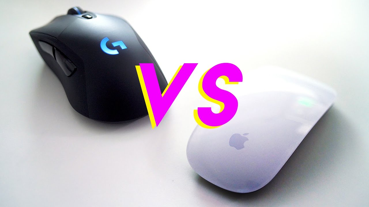 gaming mouse vs regular