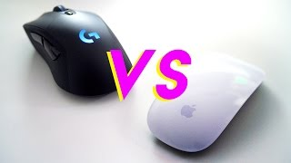 Gambar cover Gaming Mouse vs Apple Magic Mouse - Who Wins?