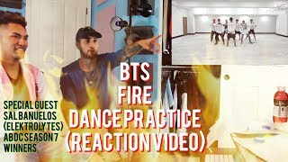 BTS - Fire - Dance Practice - Choreography - (Reaction Video)
