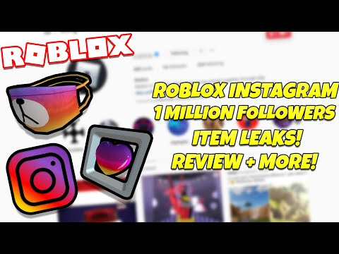 Roblox Instagram Lists Feedolist Free Instagram Roblox Items Item Leaks Discussion Youtube