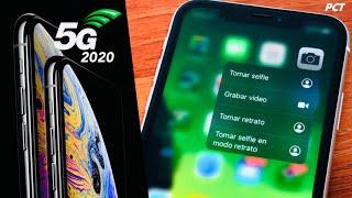 Funciones 3D Touch de iOS 13 en iPhone SE y XR listas 👍🏻 Y iPhones del 2020 con 5G + Nuevos Tamaños