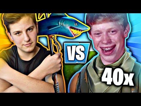 JACOB VS 40 WIDZÓW w FORTNITE BATTLE ROYALE