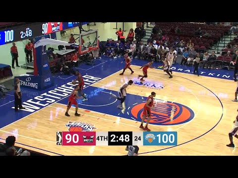 Isaiah Hicks (32 points) Game Highlights vs. Windy City Bulls