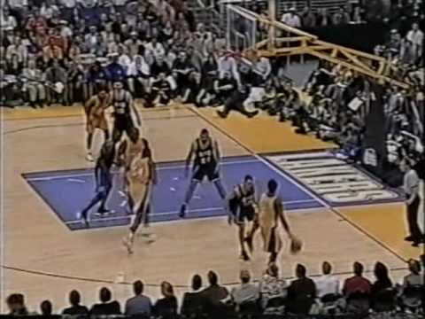 Jason Williams Heat Check vs Lakers in 2001 NBA Playoffs