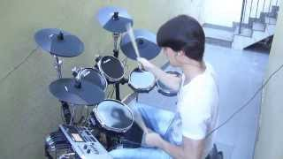 Foo Fighters - Next Year (Drum Cover) Renato RBG - Alesis DM10