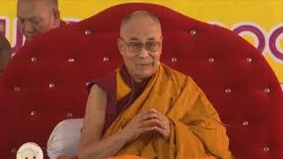 Далай-лама. Учения по «Бодхичарья-аватаре» в Санкисе. День 2