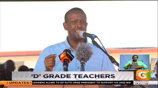 Mandera leaders urge students to enroll to teacher training colleges