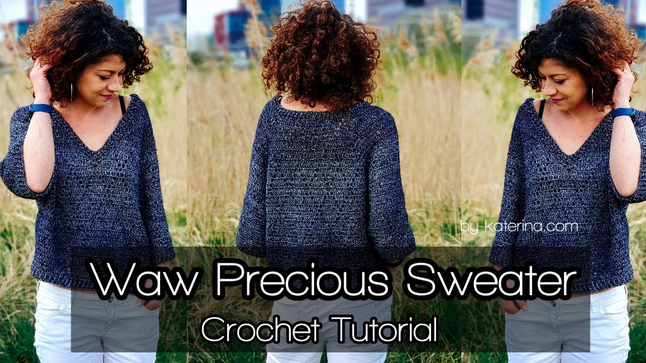 Amazing Blue Sky Cardi Tutorial on Youtube | 720x1280