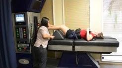 Spinal Decompression   DRX 9000 Demonstration   Bradley Chiropractic Nutrition Center