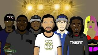 Eminem vs Drake - Rap Battle (LT Animated Cartoon)