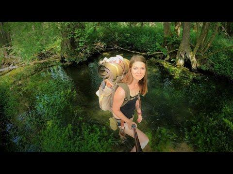 Feuchtgebiet ???? Das wird Wild! Hautnah dabei im Sumpf und Bach - Sommerbushcraft - Vanessa Blank