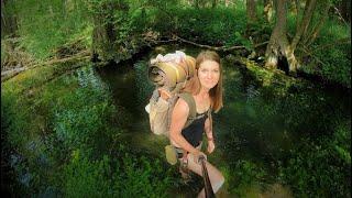 Feuchtgebiet 🦊 Das wird Wild! Hautnah dabei im Sumpf und Bach - Sommerbushcraft - Vanessa Blank