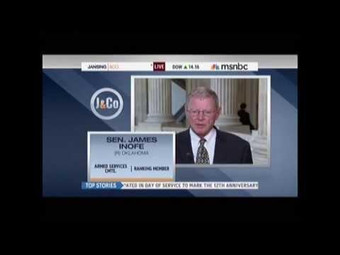Sen. Inhofe on MSNBC with Chris Jansing