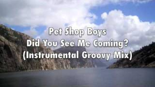 Pet Shop Boys - Did You See Me Coming? (Instrumental Groovy Mix)