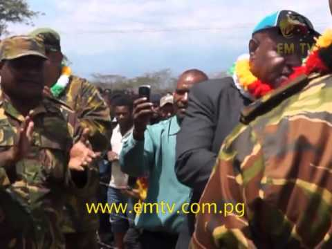 First PNGDF Highlands Regional Engineering Base Opens