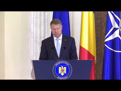 Declaratie Klaus Iohannis în cadrul ceremoniei de decorare a unor spitale și a unor cadre medicale