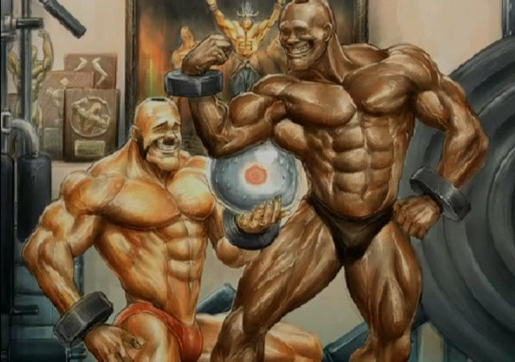 Gay hunk muscle comics free blonde muscle 8